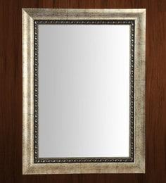 Silver Fibre Framed Decorative Wall Mirror - 1657810