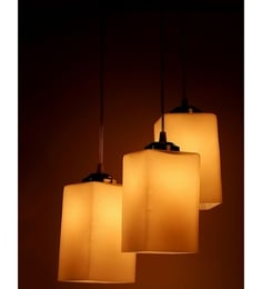 Hanging lights buy hanging lights online in india at best prices silver steel hanging light aloadofball Image collections