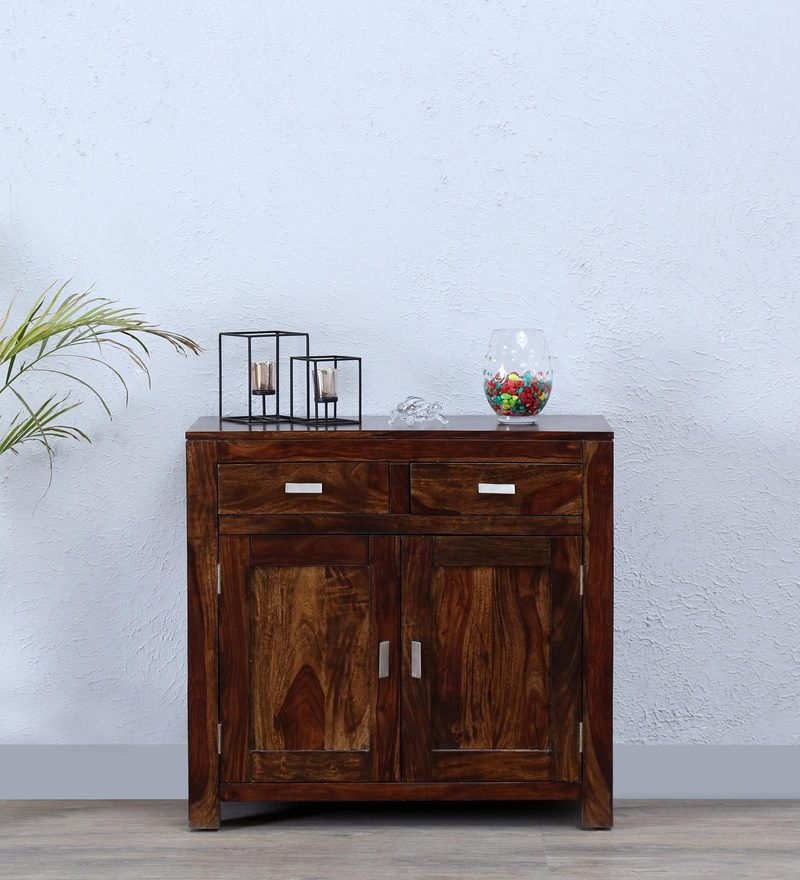 Oriel Two Door Sideboard in Provincial Teak Finish by Woodsworth