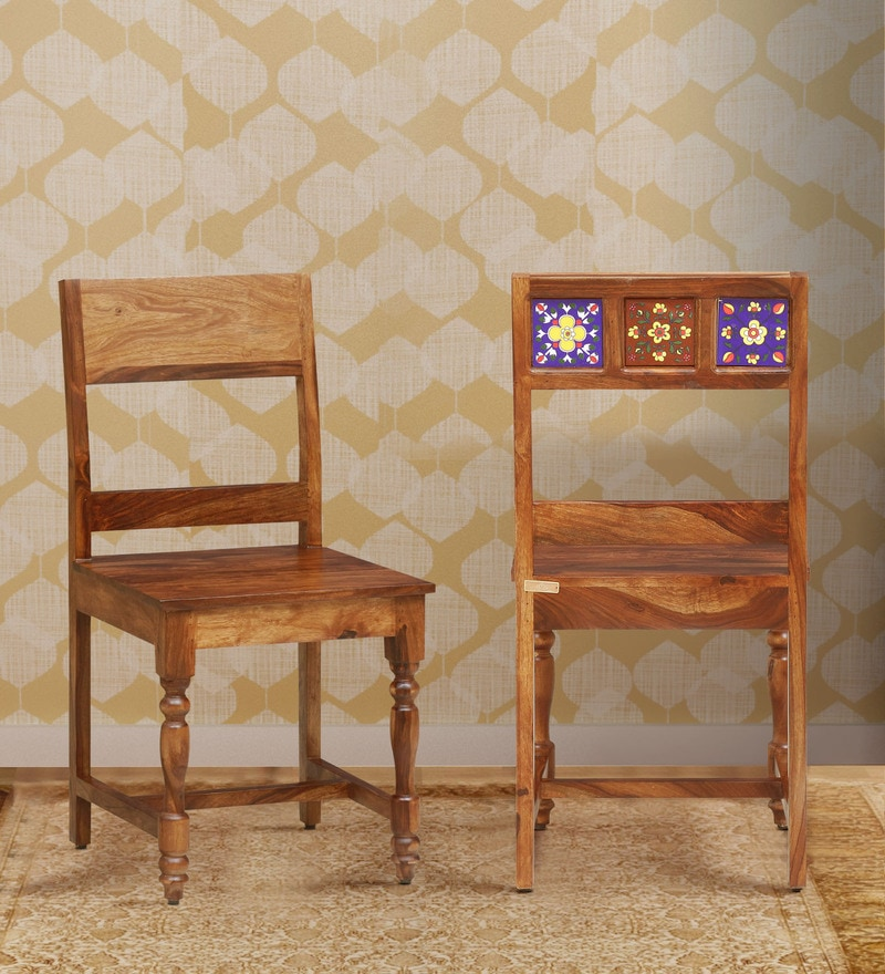 Traditional Teak Wood Chair By Vareesha Online Indian