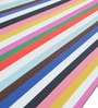Single  Layer Fabric Hammock Double with Crazy Stripes by Slack Jack