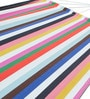 Single  Layer Fabric Hammock Single with Crazy Stripes by Slack Jack