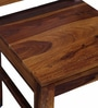 Acropolis Six Seater Dining Set with Bench  in Provincial Teak Finish by Woodsworth