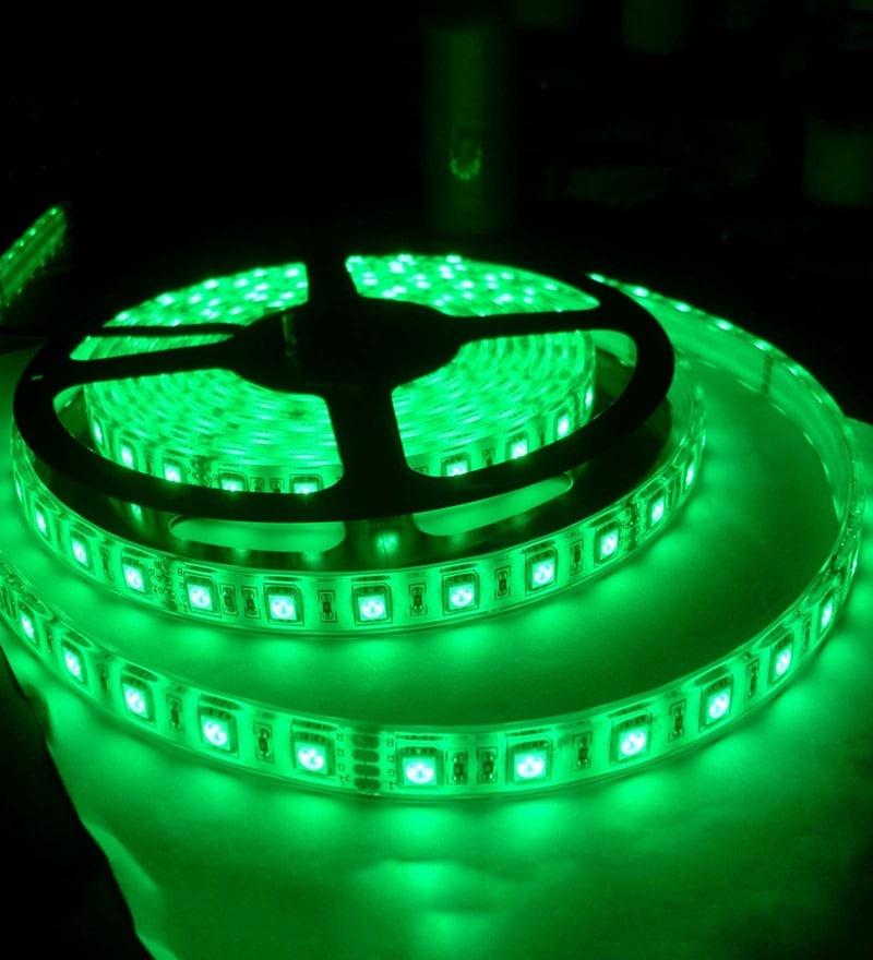 Green Diwali LED Strip Light by Skycandle
