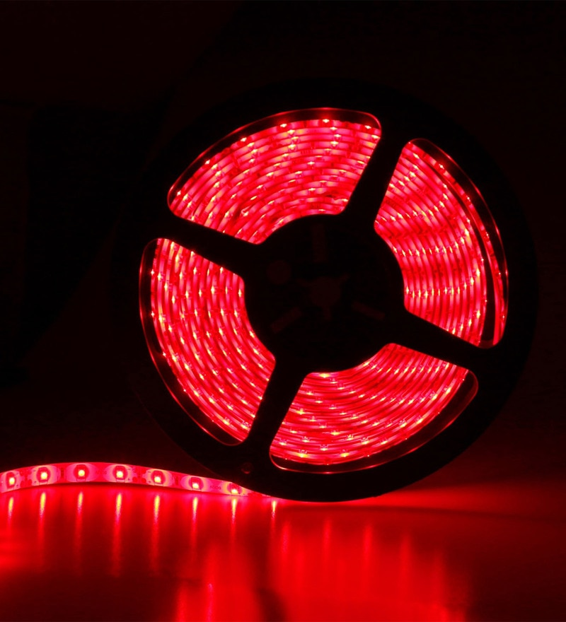 Red Diwali LED Strip Light by Skycandle