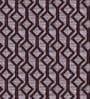 Skipper Maroon Polyester Diamond Pattern Window Curtain - Set of 2
