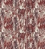 Skipper Maroon Viscose & Polyester Abstract Pattern Window Curtain - Set of 2
