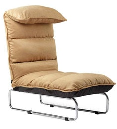 Soffino Air Lounger Reclining Chair In Brown Colour By Camabeds