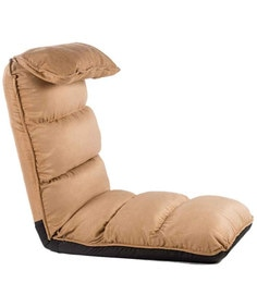 Soffino Low Seat Reclining Lounger Chair In Brown Colour  By Camabeds