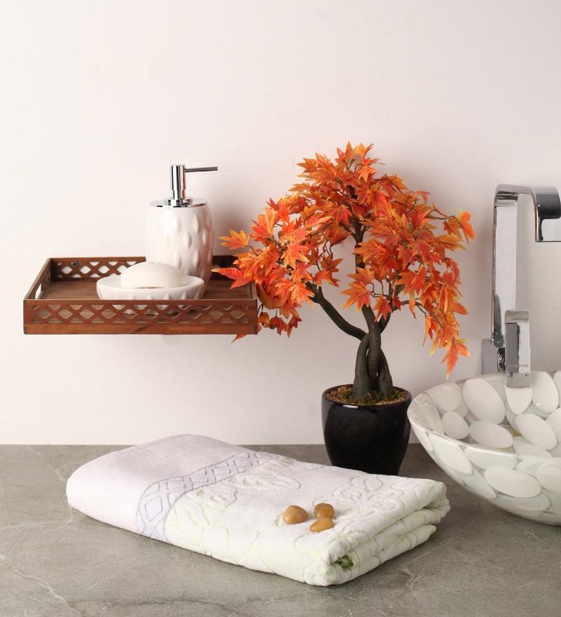 Green Cotton 55 x 28 Bath Towel by Softweave