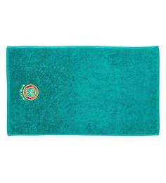 Spaces Jade 100% Cotton 16 X 24 Inch Wimbledon Hand Towel