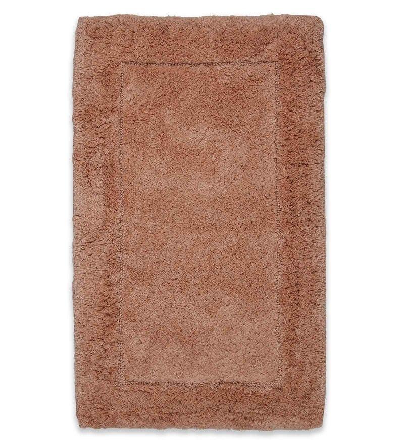 Spaces Coral 100% Cotton 20 x 31 Inch Hygro Large Bath Mat