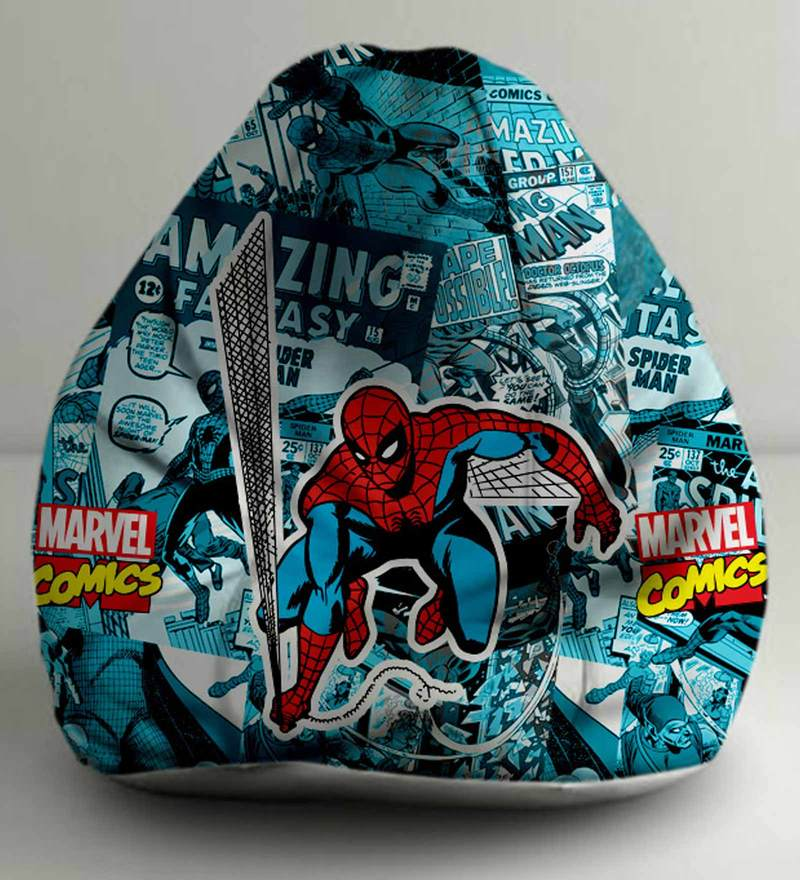 Spiderman Comics Digital Printed Bean Bag (Without Beans) XXL Cover by Orka