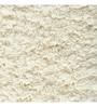 Welhome Ivory Cotton 15 x 23 Unwinders Bath Mat