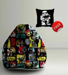 Star Wars Characters Digital Printed Bean Bag XXL Filled With Beans