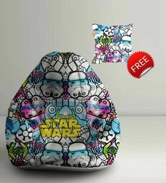 Star Wars Storm Trooper Digital Printed Bean Bag XXL Filled With Beans