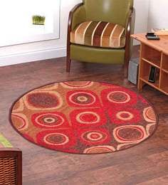 Abstract  Nylon 3 x 3 feet Machine made Carpet