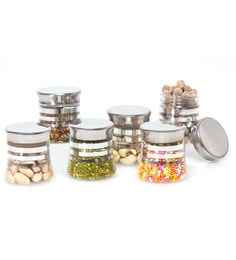 Steelo 125 ML Belly Containers Set of 6