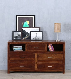 Stigen Chest Of Drawer In Provincial Teak Finish - 1605196