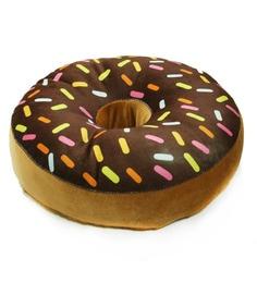 [Image: stybuzz-brown-velvet-16-x-16-inch-donut-...g43id1.jpg]