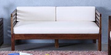 Stigen Two Seater Sofa In Provincial Teak Finish
