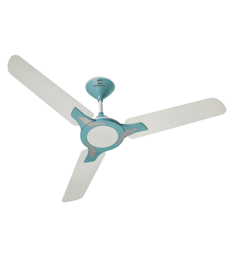 Buy havells standard aspire 1200 mm silver oasis green ceiling fan havells standard leafer 1200 mm pearl white baby blue ceiling fan aloadofball Images