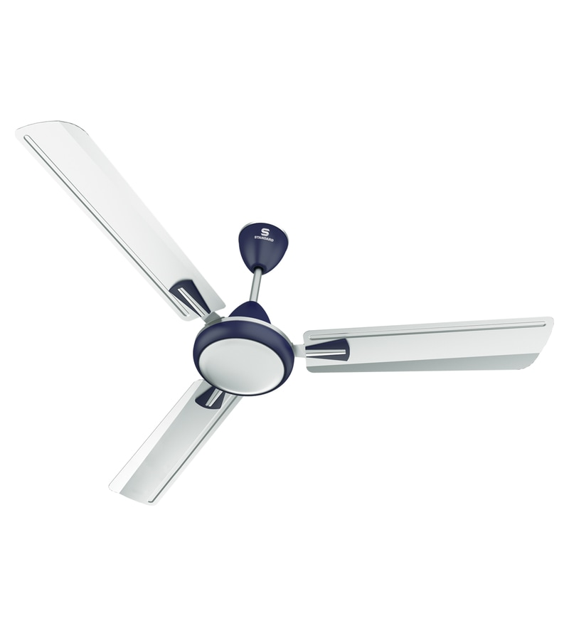 Buy havells standard aspire 1200 mm silver oasis green ceiling havells standard stellar 1200 mm silver blue ceiling fan aloadofball