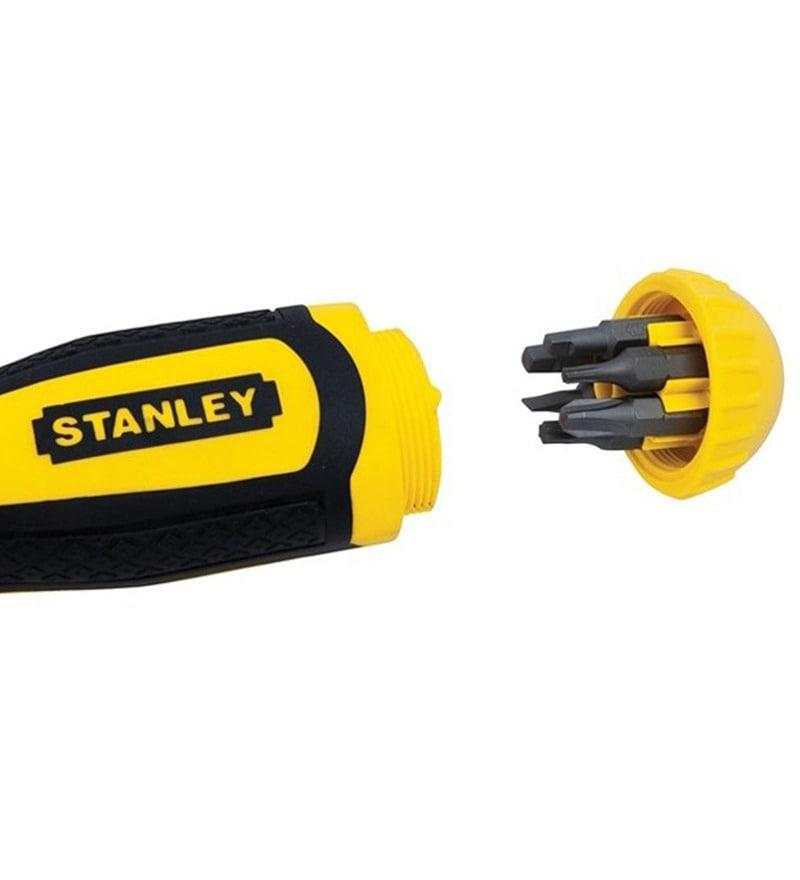 Stanley Chromium Vanadium Steel Screwdriver - Set Of 5