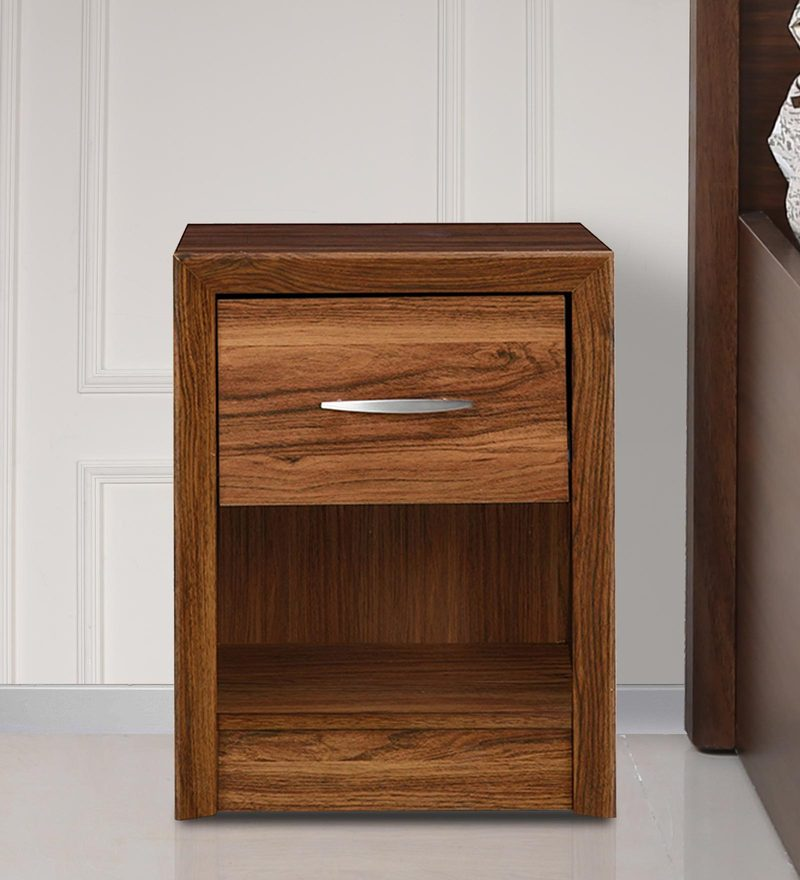 Stark Night Stand in Walnut Colour by HomeTown