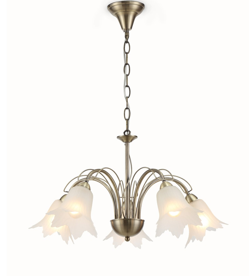 Black and Transparent Metal and Glass Chandelier by Stello