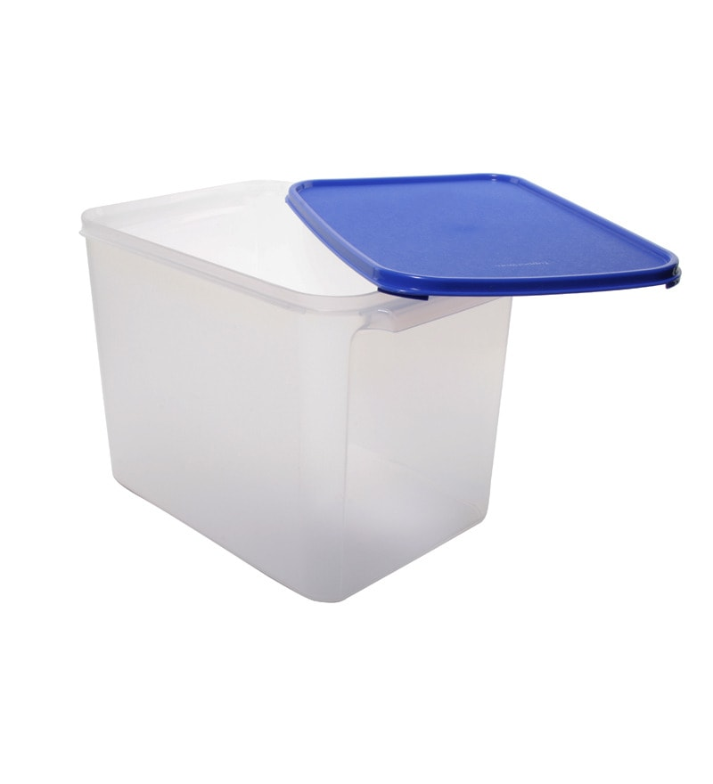 Buy Tupperware Store It All Container 12 Kg Blue Lid