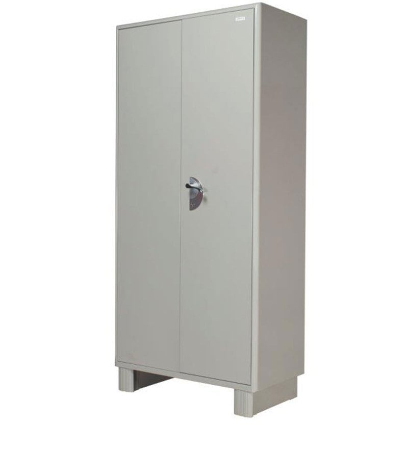 Buy Storwel Wardrobe In Prince Grey Colour By Godrej