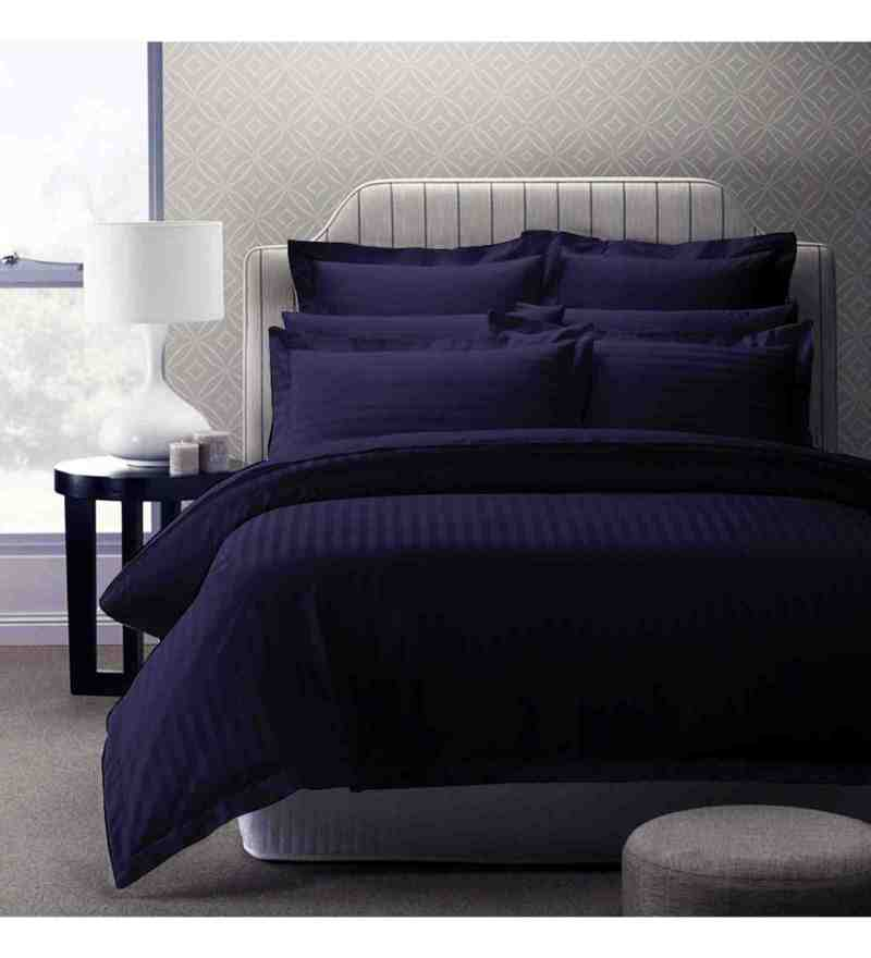 Purple 100% Cotton 108 X 108 Inch Foreverxl Bed Sheet Set by Story@Home