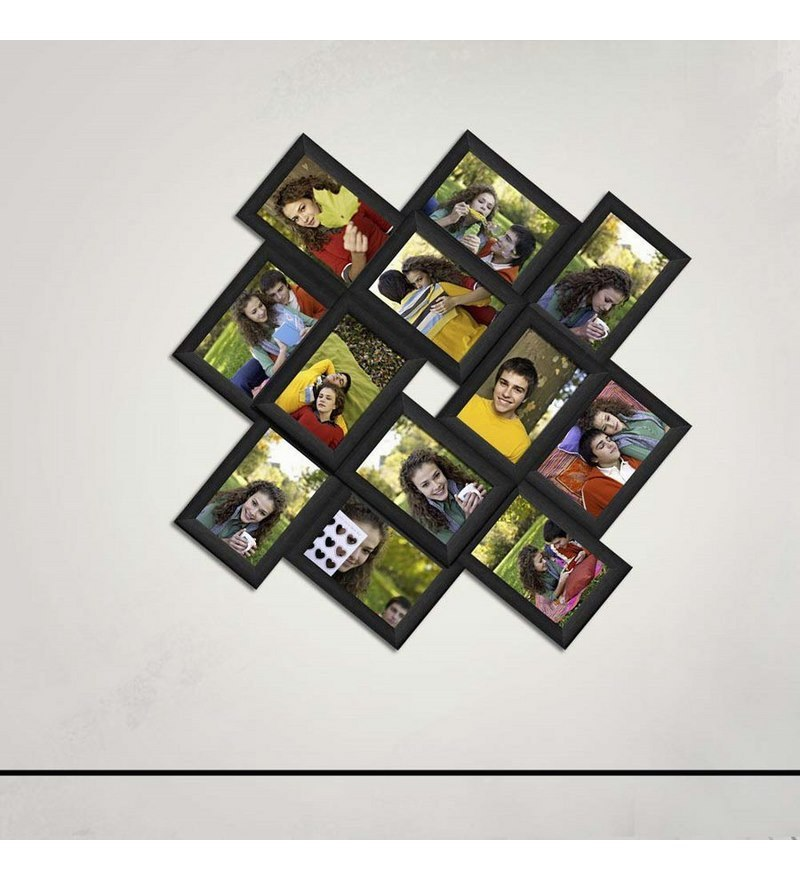 6b5138bf545 Buy Snap Galaxy Black Synthetic Wood Collage Photo Frames Online ...