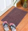Status Brown Delure 23 x 15 Inch Door Mat- Set of 2