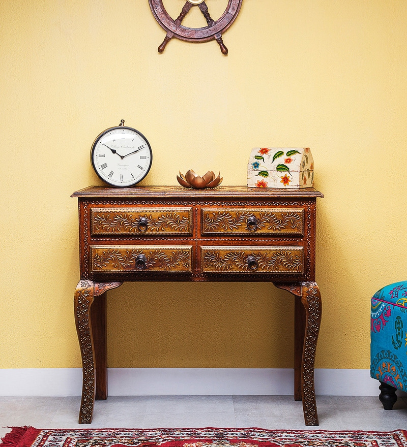Aravinda Hand Painted Console Table by Mudramark