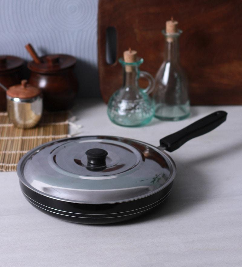 Aluminium 1.75 L Non-Stick Fry Pan by Sumeet