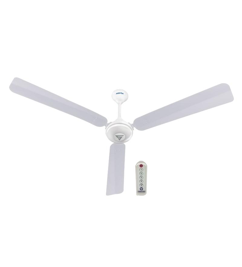 Superfan Super V1 1400 mm Ceiling Fan White