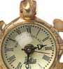 Suriti Golden Brass Clock