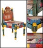 Raaga Patchwork Chair by Mudramark