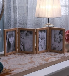 SViRU Beige Synthetic And Glass Collage Photo Frame - 1587897