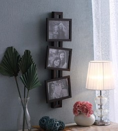 SViRU Black Synthetic And Glass Collage Photo Frame - 1587926