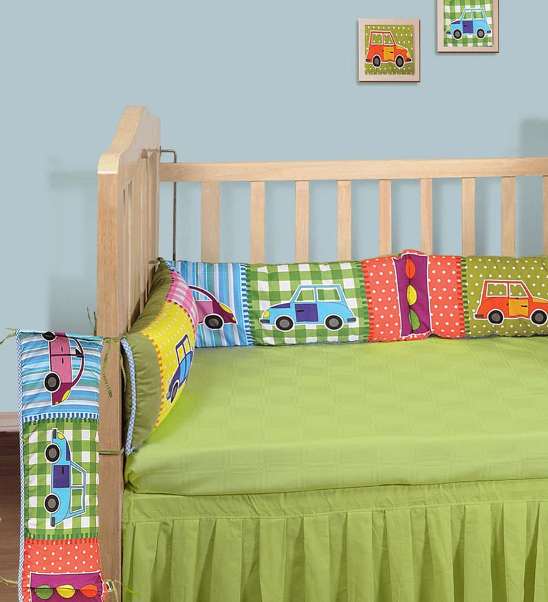 Digitally Printed Cot bumper (Large / Std size) by Swayam