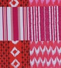 Swastika Multicolour Cotton Queen Size Bed Sheet with 2 Pillow Covers