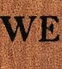 Brown Coir 24 x 14 Inch Welcome Door Mat by SWHF
