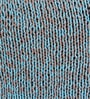 SWHF Turquoise Cotton 18 x 18 inch Hand-knitted Cushion Cover