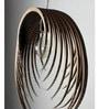 Brown Corrugated Cardboard Purge Pendent by Sylvn Studio