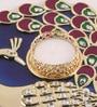 Multicolour Metal Puja Set by Gupta Glass Gallery