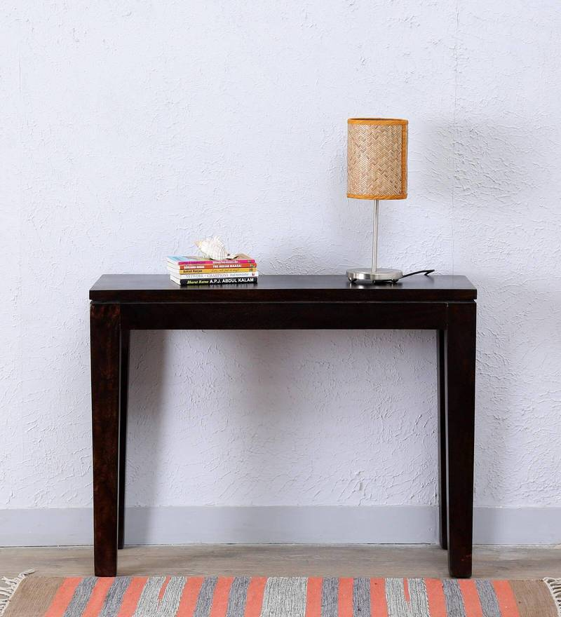 Tacoma Console Table in Warm chestnut Finish by Woodsworth