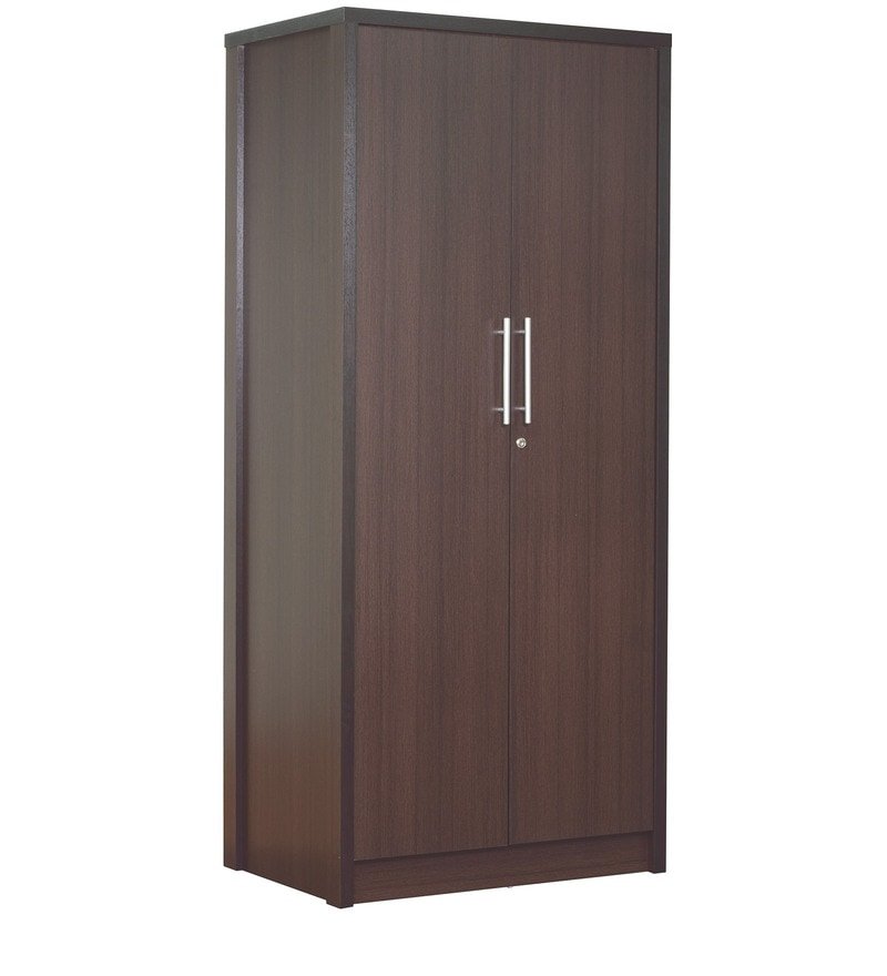 buy takeshi two door wardrobe in wenge finish by mintwud. Black Bedroom Furniture Sets. Home Design Ideas